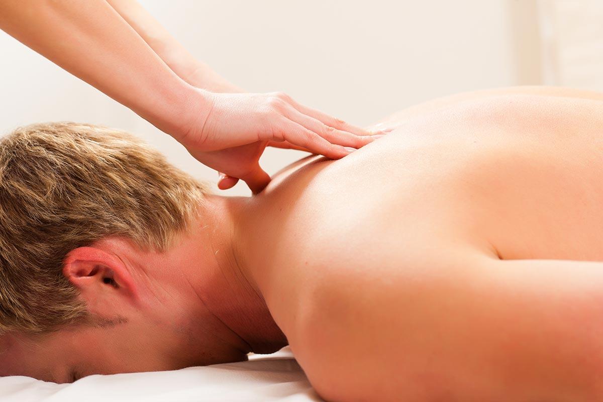 Neck, back and shoulder massage